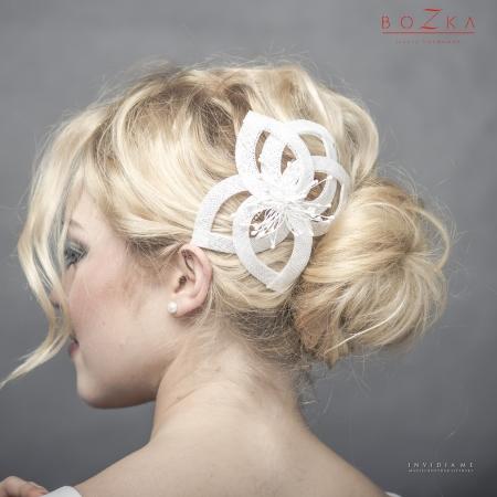 Bridal fascinator inspired...
