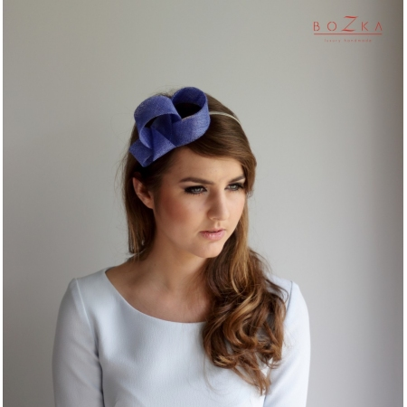 Cobalt fascinator