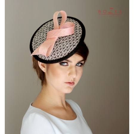 Coctail hat - checkered...