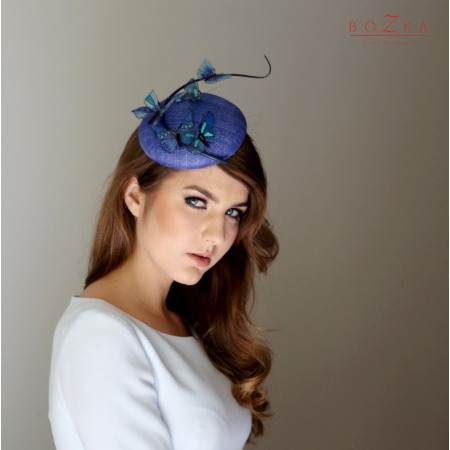 Cobalt coctail small hat...