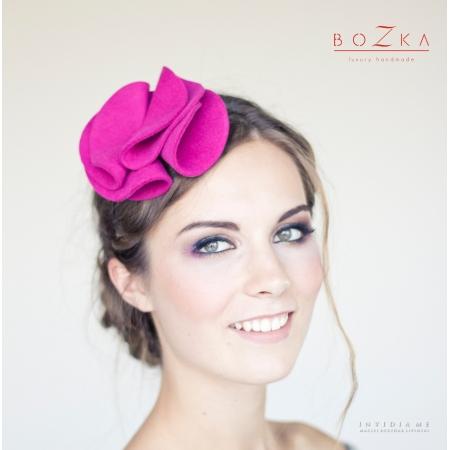 "Pink headpiece ""Rosa"""