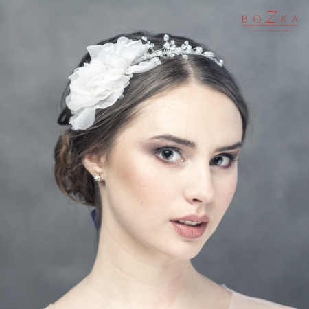 Jeweled bridal headband...